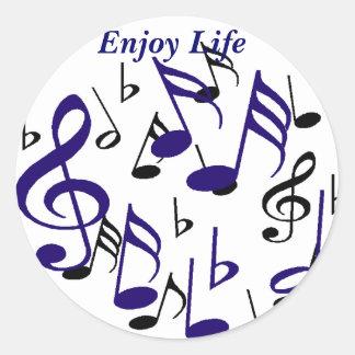 Enjoy Life_ Sticker