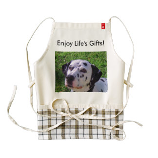 Enjoy Life's gifts Zazzle HEART Apron