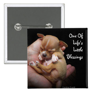 Enjoy Life's Little Blessings 2 Inch Square Button
