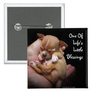 Enjoy Life's Little Blessings Pinback Button