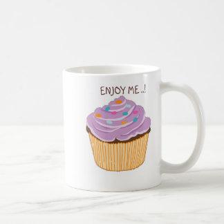 ENJOY ME..! (cupcake) Classic White Coffee Mug
