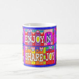 ENJOY n Share JOY .. by Naveen Joshi Coffee Mug