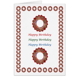 Enjoy n Share Joy  - HappyBirthday Happy Birthday Card