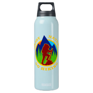 Enjoy Nature Go Hiking Insulated Water Bottle