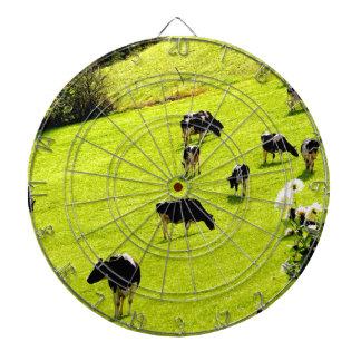 Enjoy nature sweet cows dartboard