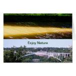 Enjoy Nature Walk Greeting Card