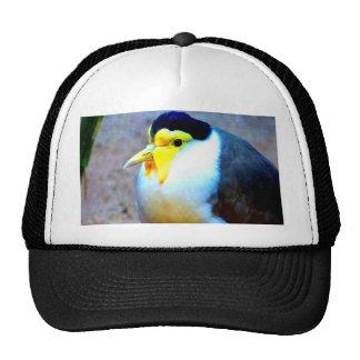 Enjoy peace and love bird trucker hat
