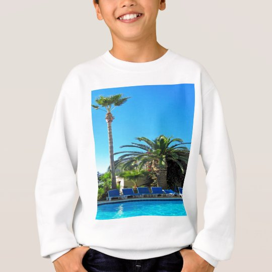 enjoy peace and relaxation palm tree sweatshirt