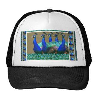 Enjoy:  PEaCOCK n Feathers Art Graphics Mesh Hat