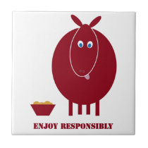 Enjoy Responsibly Ceramic Tile