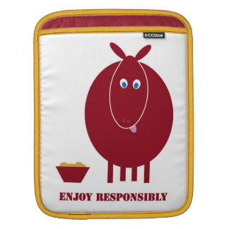 Enjoy Responsibly Sleeve For iPads