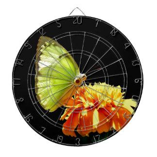 Enjoy sweet and peace butterfly dartboard