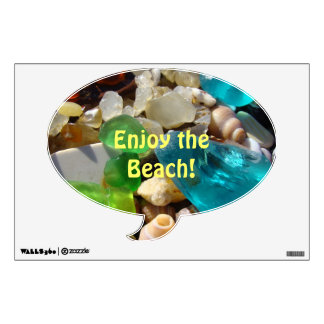 Enjoy the Beach! wall decals Sea Glass Agates