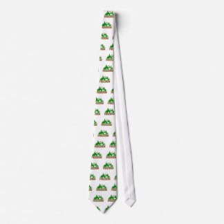 Enjoy The Freedom Of Camping Neck Tie