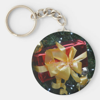 Enjoy the gift of the season! keychain