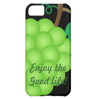 Enjoy the good life green cover for iPhone 5C