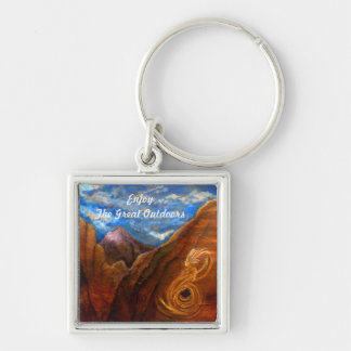 Enjoy The Great Outdoors Keychain
