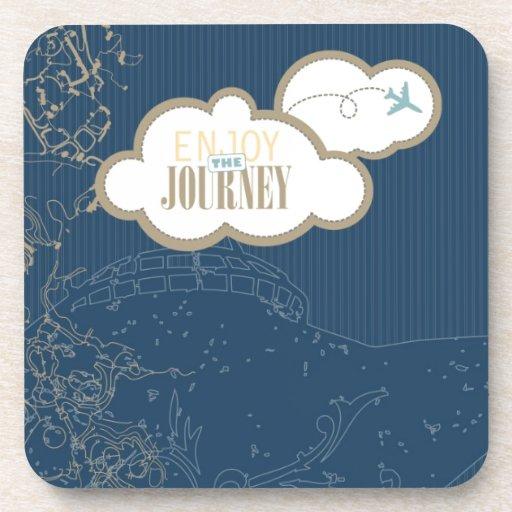 Enjoy the Journey Drink Coasters