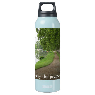'enjoy the journey' on the Path of LIfe Insulated Water Bottle