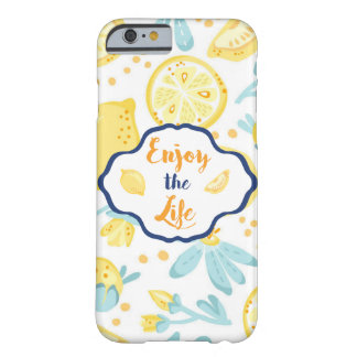 Enjoy the Life Lemonade Barely There Iphone Case