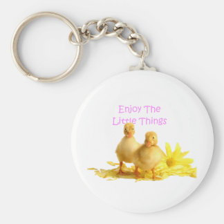Enjoy The Little Things, Ducklings Keychain