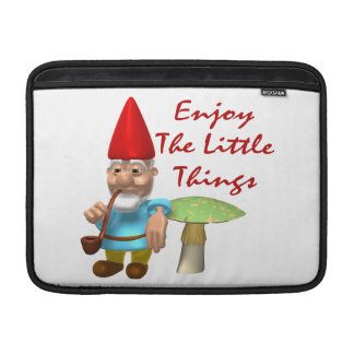 Enjoy The Little Things Gnome Sleeve For MacBook Air