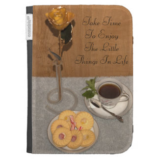 Enjoy the Little Things in Life Kindle Keyboard Case