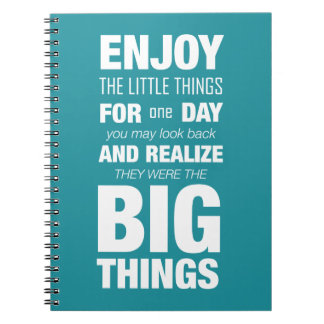 Enjoy the little things! Journal Typography