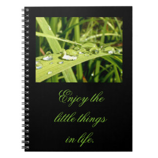 Enjoy the Little Things Notebook