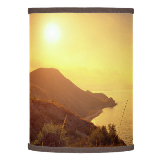 """""""Enjoy the little Things""""  Quote Sunset Sea View Lamp Shade"""