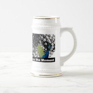 Enjoy the Moment 2 - Peacock Coffee Mug