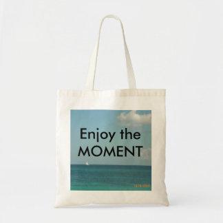Enjoy the Moment Canvas Bag
