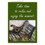Enjoy the Moment Card