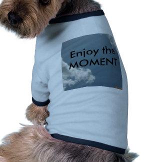 Enjoy the Moment Pet T Shirt