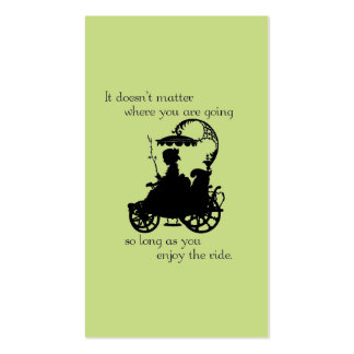 Enjoy the Ride Business Card