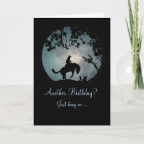 Enjoy the ride Cowboy Birthday Card