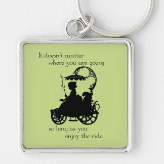 Enjoy the Ride Key Chain