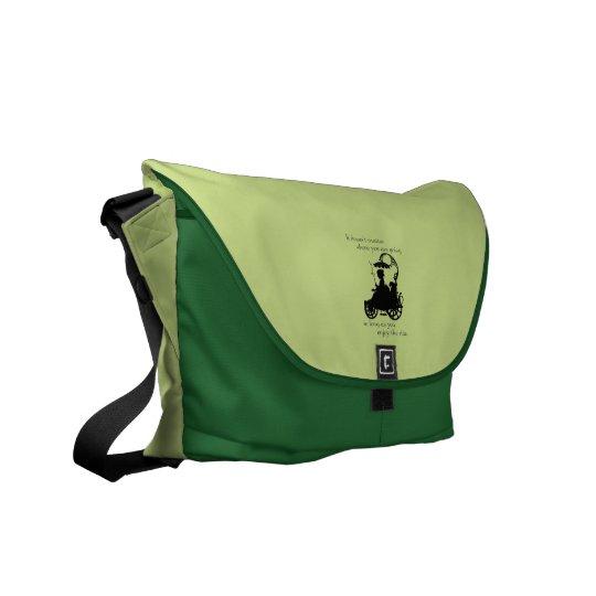 Enjoy the Ride Messenger Bag