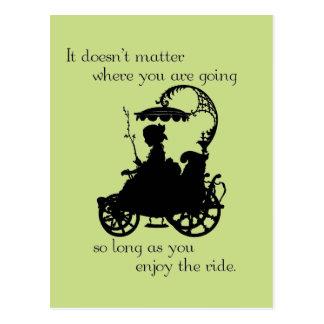 Enjoy the Ride Postcard