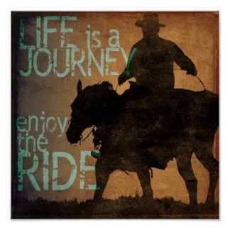 Enjoy the Ride Poster