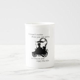 Enjoy the Ride Tea Cup