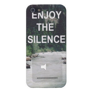 Enjoy The Silence iPhone 5 Covers