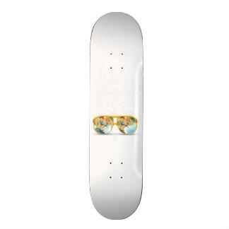 enjoy the summer holiday skateboard