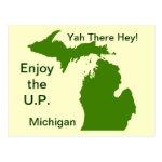 Enjoy the U.P. Michigan with Da Yoopers Postcard