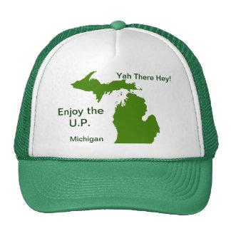 Enjoy the U.P. Michigan with Da Yoopers Trucker Hat