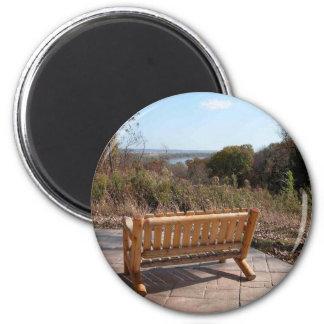 Enjoy the view 2 inch round magnet