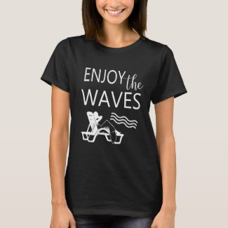 Enjoy The Waves Summer Beach T-Shirt
