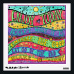 """Enjoy Today Wall Decal<br><div class=""""desc"""">Today collection</div>"""