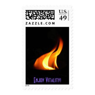 Enjoy Vitality! Stamp