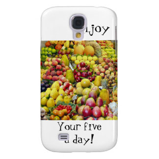 Enjoy you five a day samsung galaxy s4 covers